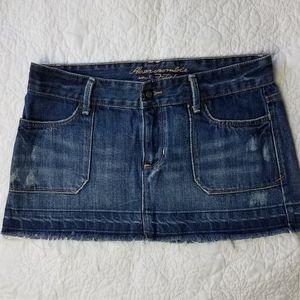 Abercrombie & Fitch Denim Jean Mini Skirt 2